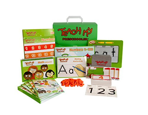 Teach My Preschooler Learning Kit (Kindergarten Math Kit)