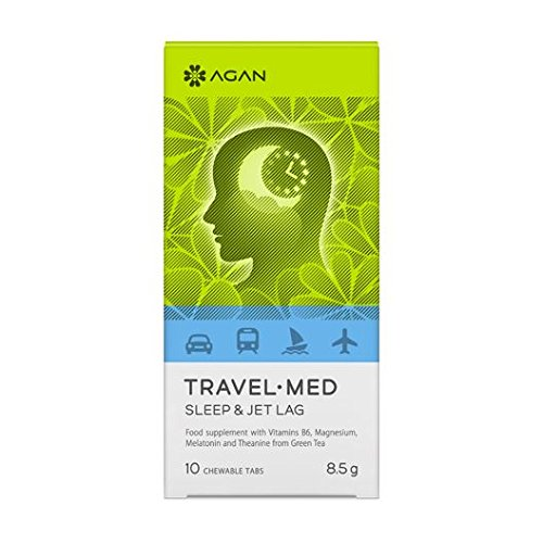 Amazon.com: Agan Travel-Med Sleep & Jet lag 10 chewable tabs: Health & Personal Care