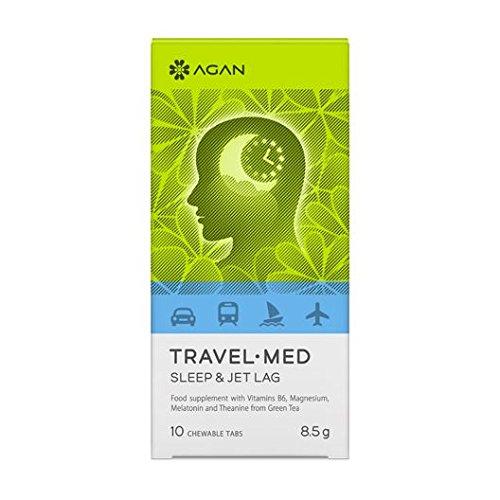 Amazon.com: Agan Travel-Med Sleep & Jet lag 10 chewable tabs: Health & Personal Care