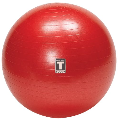 Body-Solid Tools BSTSB65 65cm Exercise Ball (Red)