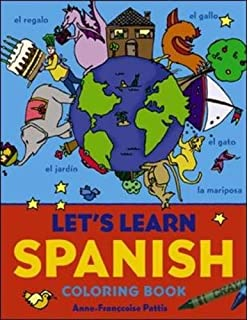 Let\'s Learn Spanish Coloring Book (Let\'s Learn Coloring Books ...
