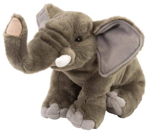 Wild Republic Elephant Stuffed Animal Plush (Wild Republic Cuddlekins Elephant)