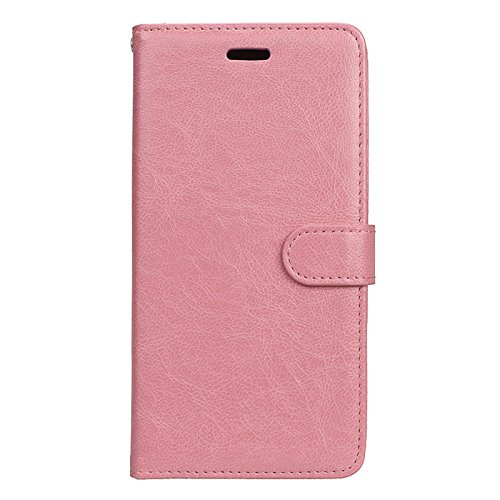 Anzeal Xiaomi Redmi 3 Case,[Stand Function] [3 Card Slots] PU Folio Flip Wallet With Strap Magnetic Case Leather Protective Cover for Xiaomi Redmi 3 Pink