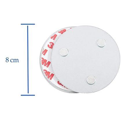 Hmtool Detector De Humo Magnético Herramienta De Instalación, Rápido Y Fácil De Fijación Kit Montado