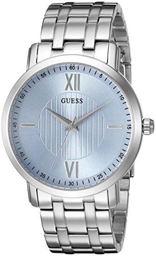 GUESS U0716G1 Classic Silver Tone Watch
