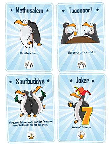 Trinkspiele - DrinkKing das beliebte Party-Spiel! Mit über 50 verschiedenen Trinkkarten!