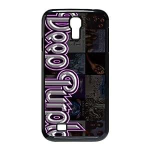 Samsung Galaxy S4 9500 Cell Phone Case Covers Black Deep Purple xtu usgz