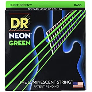 DR Strings NGB5-40 HI-DEF NEON Bassgitarrensaiten