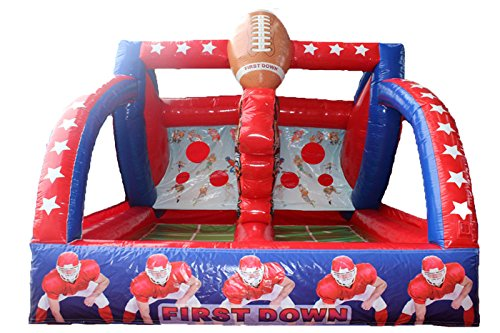 Commercial Inflatable Football Toss (Football Toss Carnival Game)