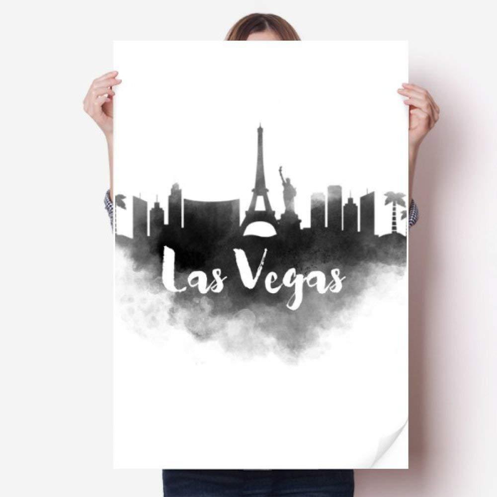 DIYthinker Las Vegas América Landmark Tinta Pintura Ciudad ...