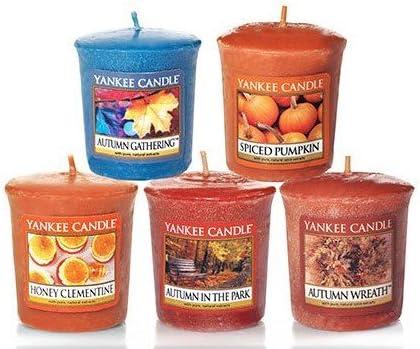 Yankee Candle Usa  Rare Pumpkin Wreath Sampler