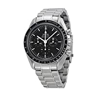 Omega Men's 31130423001005 Speedmaster Analog Display Mechanical Hand Wind Silver Watch