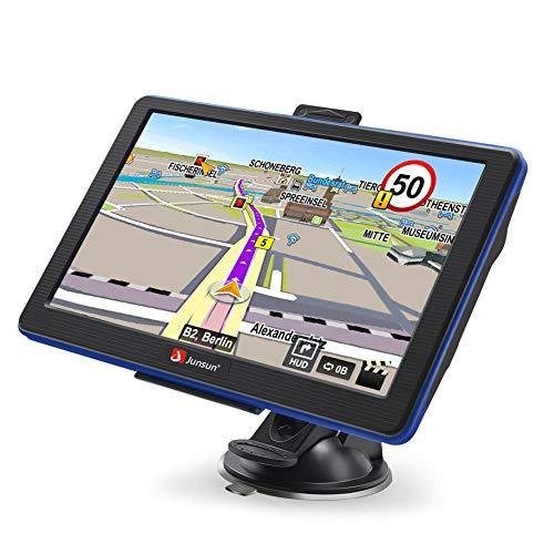 GPS Navigation Car Portable GPS Navigation System 7 inch Capacitive Touchscreen Built-in 8GB FM MP3 MP4 Sat Nav Lifetime Maps by junsun