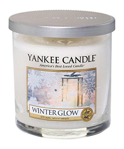 YANKEE CANDLE Tumbler Candela a 2 Stoppini Piccola, Winter Glow 1342542E