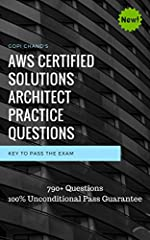 We are offering 800+ UNIQUE practice questions for AWS Solution Architect Associate certification exam.Unlike others, We offer details explanation to each and every questions that will help you to understand the question.Our mock exam softwar...