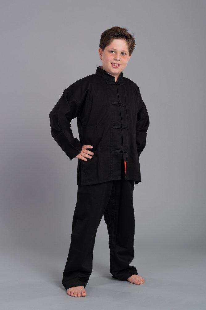 Budoten Shaolin II - Kung Fu Anzug - schwarz 130