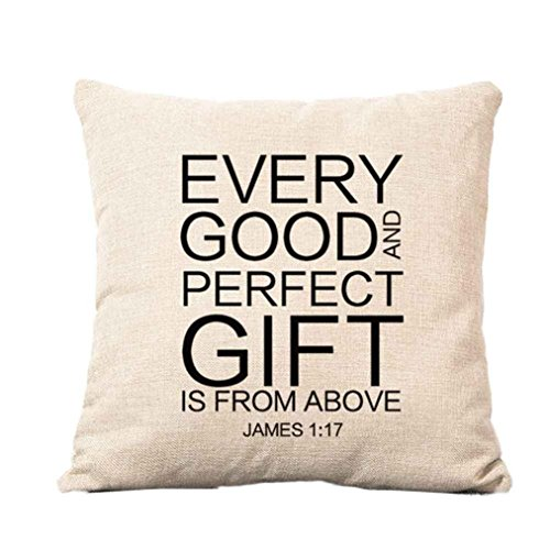Truth pillowcase, Laimeng Square Pillow Cover Cushion Case Toss Pillowcase Hidden Zipper Closure