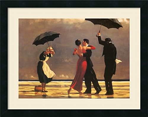 - Framed Art Print, 'The Singing Butler' by Jack Vettriano: Outer Size 24 x 19