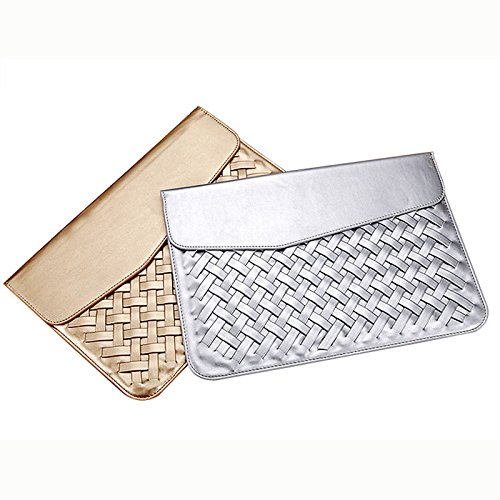 Wall of Dragon Luxury Durable Waterproof Weaving PU Leather Case for Air Retina 11 12 13 15 Fashion Protective Case for Mac book Pro 13 by Wall of Dragon (Image #3)