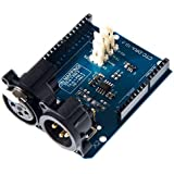 Arduino DMX Shield (Arduino Compatible), Remote Music Device Control, Extended DMX Master and Slave Arduino Device Functions.