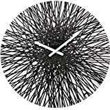 Koziol Silk Wall Clock in Black For Sale