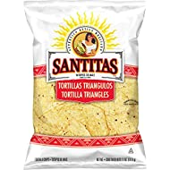 Santitas Tortilla Chips, White Corn, 11 Ounce