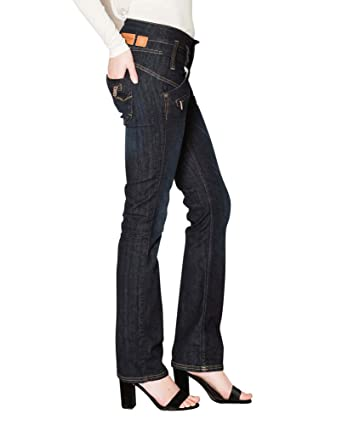 91fb830d58a9f8 Freeman T Porter Amelie Stretch Denim Eclipse Jeans da Donna: Amazon.it:  Abbigliamento