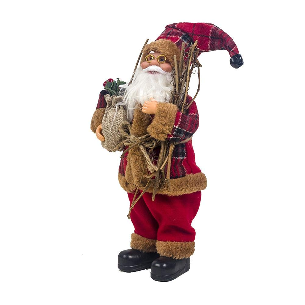 Santa Doll Fabric Christmas Doll Christmas New Year 2020 New Christmas Decoration 3 Styles