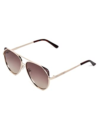 GUESS Factory Women s Flat-Front Aviator Sunglasses at Amazon Women s  Clothing store  91325bfdce