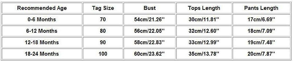 DressLksnf 2PCs Ensemble B/éb/é T Shirt /Ét/é Filles Imprim/é /à Pois Chemise sans Manches /à Carreaux Shorts Bloomer