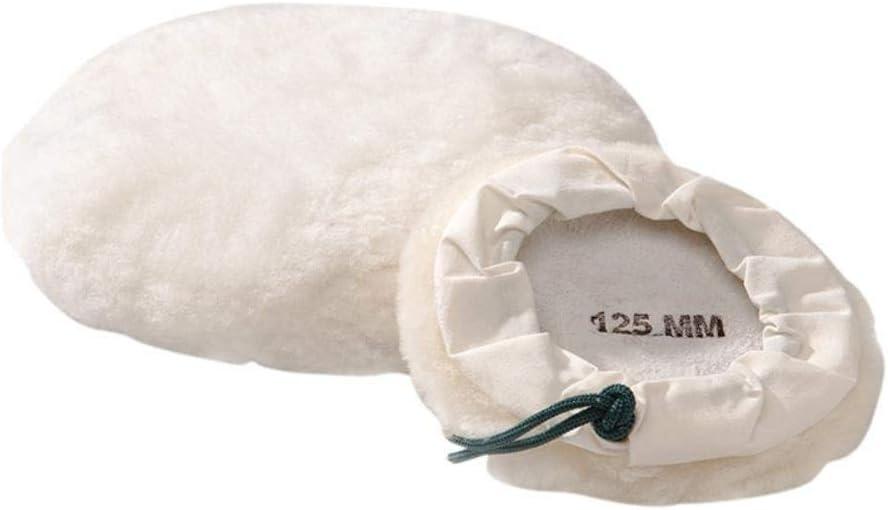 Flexipad Tie On Lambswool Bonnet 125Mm 5In