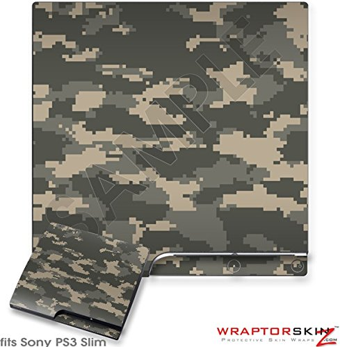 Sony PS3 Slim Skin WraptorCamo Digital Combat