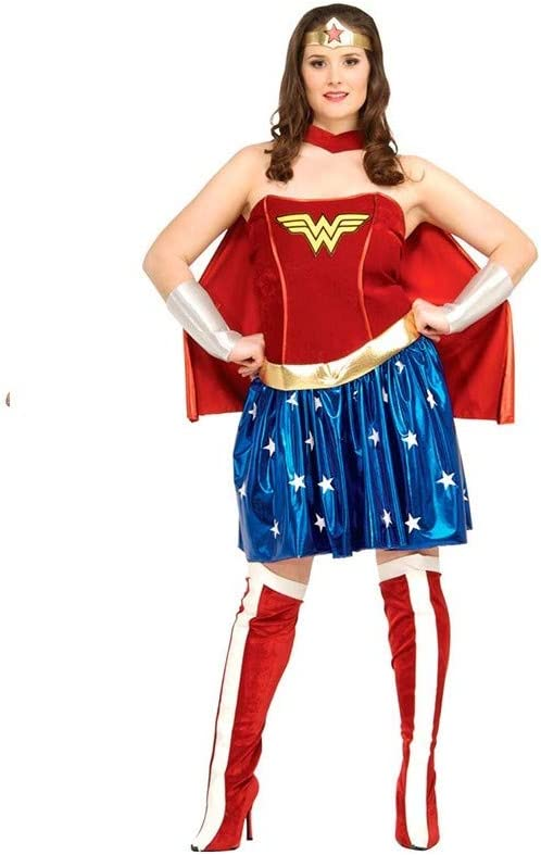 DISBACANAL Disfraz Wonder Woman Talla Grande - -, XL: Amazon.es ...