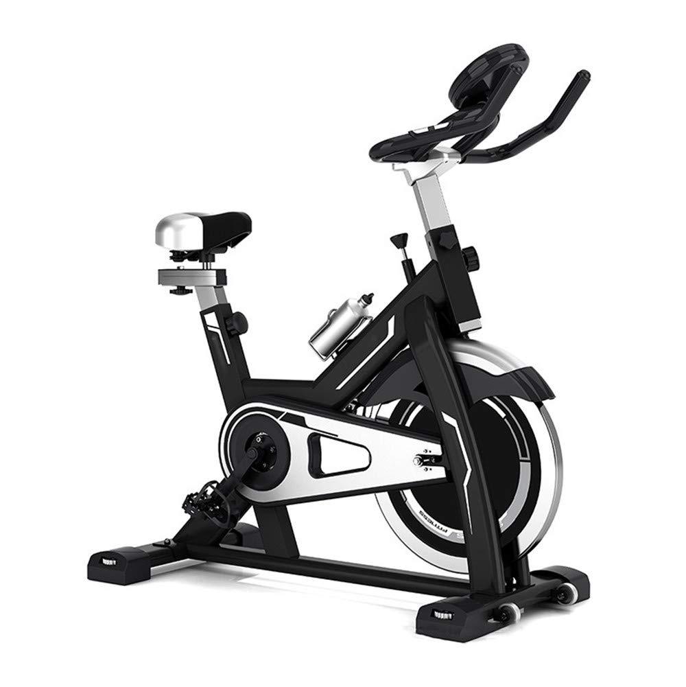 トレーニングエアロバイク 自転車静止、サイクルトレーナーエクササイズ自転車心拍数フィットネス静止エアロバイクでLCDディスプレイ   B07Q1L1S55