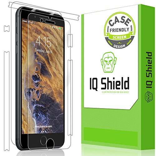 iPhone 7 Plus Screen Protector [Case Friendly], IQ Shield LiQuidSkin Full Body...