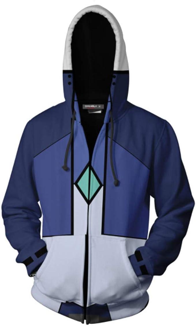 Gundam 3D Hoodies Sweatshirts Printed Zipper Jacket Cosplay Tops Overcoat new