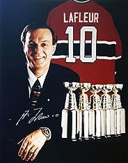 Guy Lafleur 8x10 Autographed Photograph (Cups) - Montreal