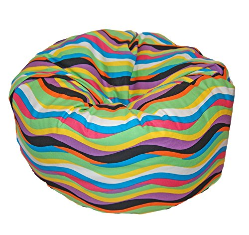 Ahh! Products Wavelength Jelly Bean Washable Kid Bean Bag Chair (Wavelength Game)