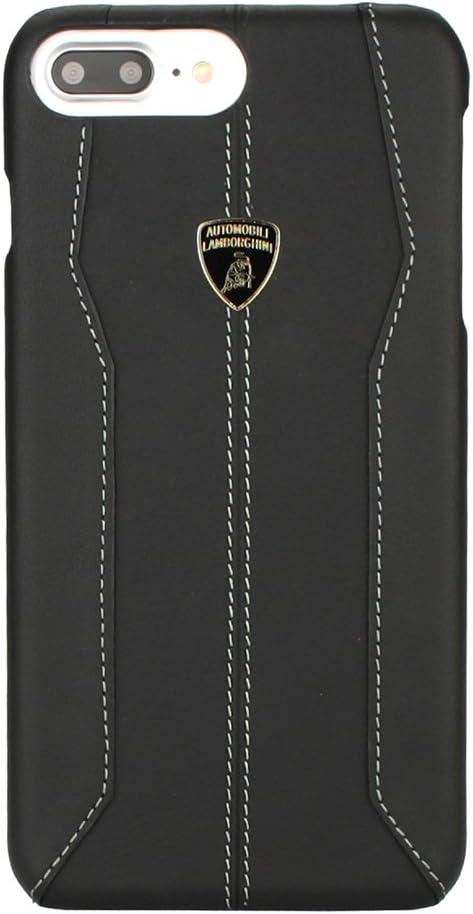 Lamborghini Huracan-D1 Leather Back Cover for iPhone 7 Plus (5.5) (Black)