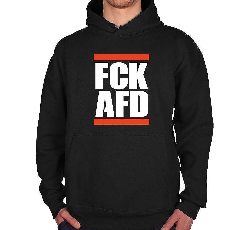 FCK AFD AFD AFD NPD Nazi Brauner Müll Unisex Hoodie XS - 3XL Schwarz B07G3FMW76 Kapuzenpullover Fashionista 33264c