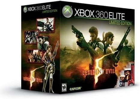 Consola Xbox 360 Edición Limitada Elite (120 GO) + Juego Resident ...