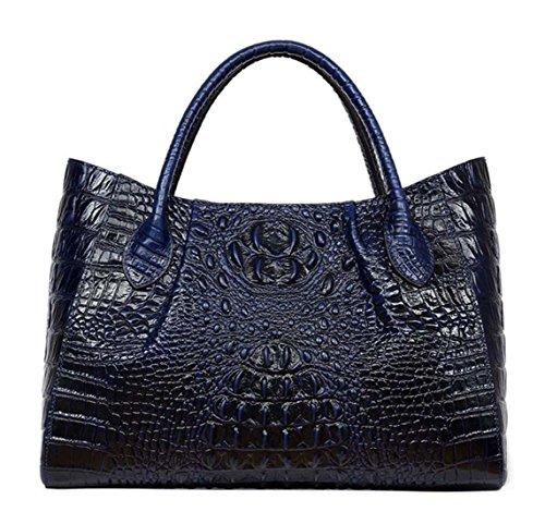 MAIN main Keshi Sac EPAULE et Cuir femmes Nouveau Bleu style Porté à f4pFXa8w4
