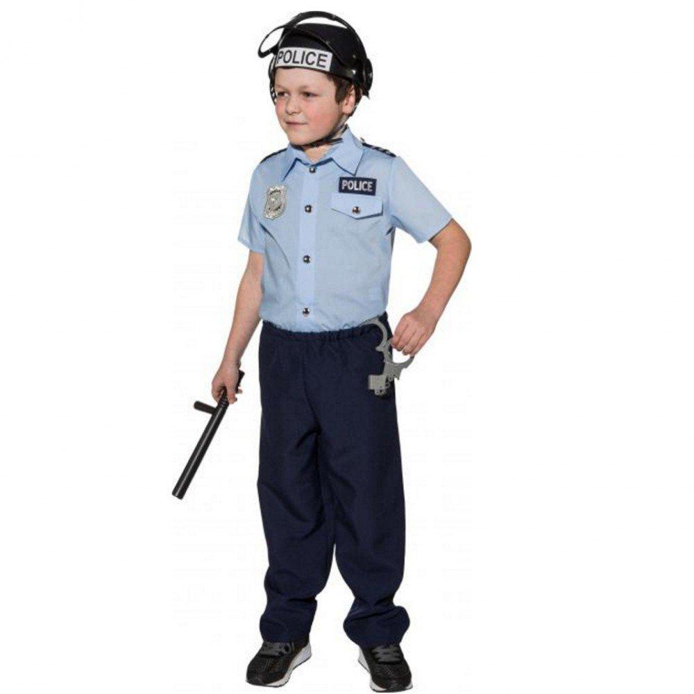 Krause & Sohn Disfraz de policía de traje de niño Disfraz de ...