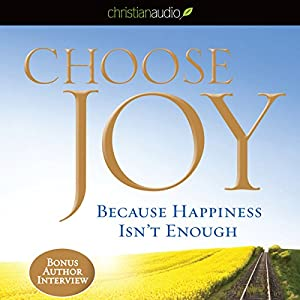 Choose Joy Audiobook
