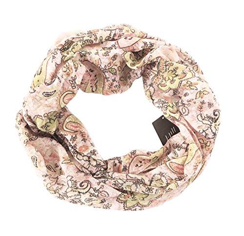 J. Jill - Women's - Mixed Print Infinity Scarf (Pink/Multi Paisley) from J Jill