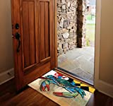 Maryland-Blue-Crab-Door-Mat-by-Joe-Barsin-30×18