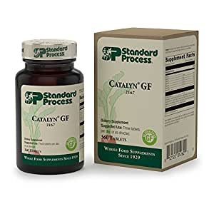 Standard Process - Catalyn GF - Complete Nutritional Supplement - Supports Skin Health, Tissue Growth and Repair - 360 Tablets