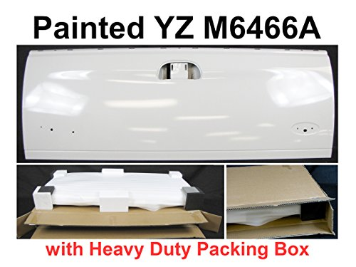 - TAILGATE OXFORD WHITE YZ M6466A FO1900113 For 1999-2007 FORD SUPER DUTY F250 F350 F450 STYLESIDE