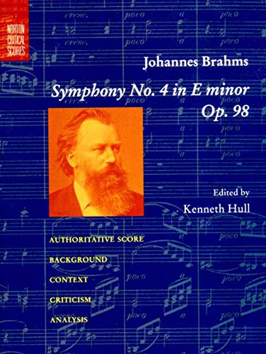 Symphony No. 4 in E Minor, Op. 98 (Norton Critical Scores)