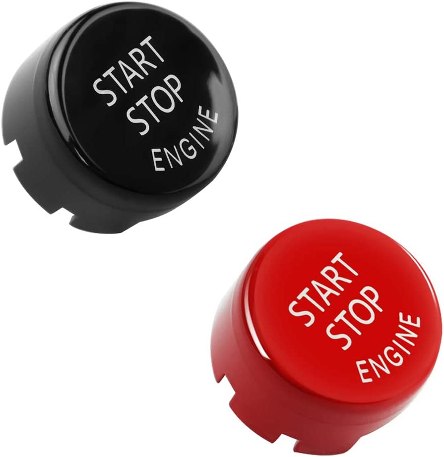 4PCS//PACK DKMUS Start Stop Engine Switch Power Ignition Button Replacement for BMW 1 2 3 4 5 6 7 X1 X3 X4 X5 X6 Series 2010-2016